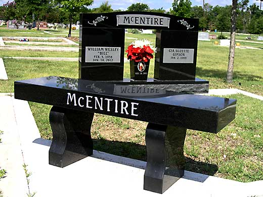 Avalon Monuments Memorials Benches Headstones Vases And Graveside Markers